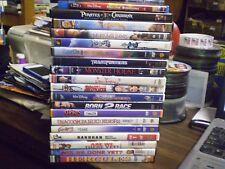 (20) Childrens Adventure DVD Lot: Disney Meet the Robinsons Transformers Pirates