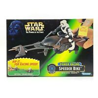 Kenner Star Wars Power Racing Speeder Bike With Scout Trooper