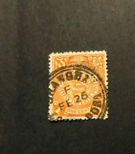 Imperial China London Print Coiling Dragon 1c Shanghai local post cancel