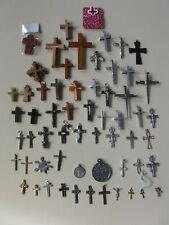 More details for crucifixs 56 x small assorted selection