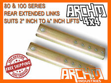 TOYOTA LANDCRUISER 80 & 100 SERIES REAR SWAY BAR LINK EXTENSIONS