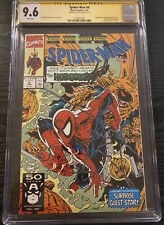 Spider-Man #6 CGC 9.6 SS Signed Stan Lee - Todd McFarlane story, cover & art