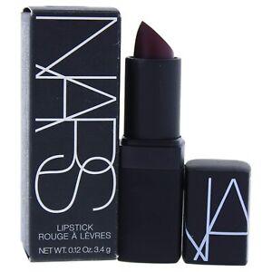 NARS Lipstick Scarlet Empress 1008 Semi Matte New in Box Full Size 0.12 oz.