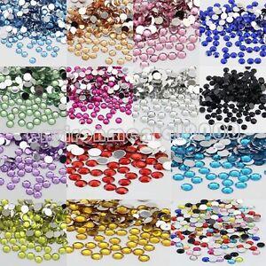 2000Pcs Strasssteine ss10 2mm TOP QUALITÄT Farbwahl zum Aufbügeln