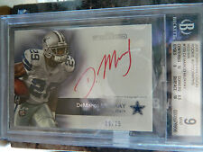 2011 Topps Demarco Murray Red Ink Auto #39 /75 ROOKIE  Graded 9/10