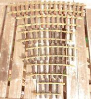 LGB 1500 etc. Lehmann  6 Stück gebogenes Gleis Konvolut gebraucht, unvollständig