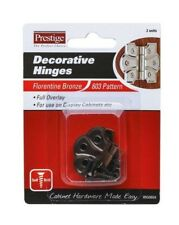 Prestige DECORATIVE HINGES Florentine Bronze 603 Pattern