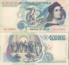 500.000 Lire Repubblica Italiana - Tiziano - Serie XA....A - FANTASTICA!