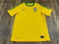 Brazil National Team Yellow Soccer Jersey - Nike - Youth Large