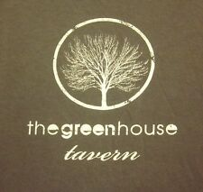 GREENHOUSE TAVERN lrg shirt downtown Cleveland beat-up tee Ohio bar Chef Sawyer