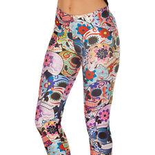3D Graphic Printed Women Leggings Skinny Slim Fit Pants Yoga Gym Funky Jegging