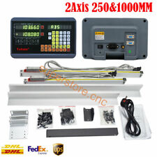 2axis Digital Readout Ttl 5um 10amp40 Linear Glass Scale Dro Display Cnc Milling