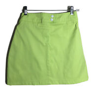 Promod XSMALL Size 0 Women's Skirt Yellow Neon Green Fun Bright Casual Party