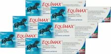 Equimax Horse Wormer Dewormer Paste, Fda Approved Tape Worm 6.42 gm (6 Tubes)