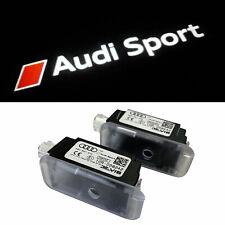 ORIGINALE Audi luci di ingresso Audi Anelli spina sottile
