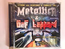 METALLICA & DEF LEPPARD CD STUDIO 99 PERFORM A TRIBUTE .. SLANG LOVE BITES