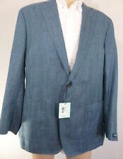 Peter Millar Collection Men's Blue Sports Blazer Jacket Size 46R MS17RJ05 $898