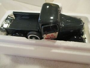 Danbury Mint 1:24 Diecast Ford 1935 Pickup U.S. Mail Delivery Truck new no title