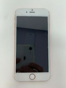 Apple iPhone 6s 16GB, Rose Gold - GSM Unlocked Phone (CRACKED SCREEN)