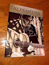 """Al Di Meola """"Original Charts:1996-2006"""" Guitar/Piano/Bass Songbook_Autographed"""