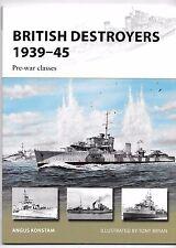 Osprey Vanguard 246, British Destroyers 1939-45, Pre-War Classes, Ref. ST