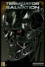 Terminator Salvation T-700 1:1 Life Size Bust Prop Endo Endoskeleton Sideshow