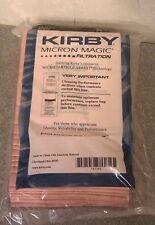 9 Sentria Micron Magic G3-6 Kirby Vacuum Bags BRAND NEW OEM SEALED