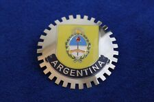Argentina Grille Badge Bumper License Topper Accessory Rat Rod Bumper Bar