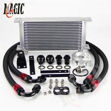 Aluminum 19 Row Engine Oil Cooler w/ Filter Adapter Kit For Honda S2000 F20 F22
