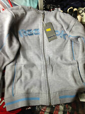 REEBOK LADIES clothing HOODIE in lGREYc in size 14 16  UKembroided £14