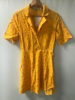 & Other Stories ® Yellow Floral Sheath Dress - Size EU 38 - NEW - RRP = £59.00