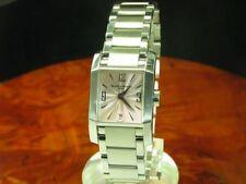Baume & Mercier Diamant Edelstahl Damenuhr inkl Box Ref 65488 / Kaliber BM 7425