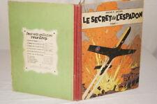 LE SECRET DE L'ESPADON TOME 1 JACOBS 1955 BLAKE ET MORTIMER