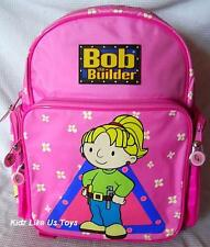 ~ Bob the Builder - WENDY BACKPACK with 2 SIDE POCKETS