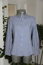 bonito camisa equipada de rayas azul y blanco TOMMY HILFIGER talla S/P NUEVO
