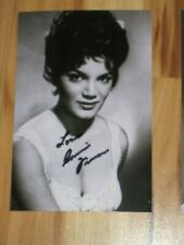 Singer CONNIE FRANCIS Signed 4x6 Photo AUTOGRAPH