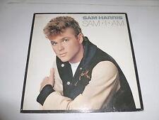 SAM HARRIS - Sam I Am - 1986 Italy 10-track vinyl LP
