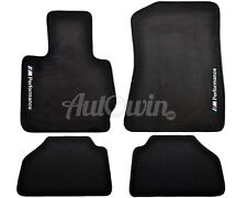 BMW X3 Series F25 Winter Floor Mats With Rubber Background ///M Performance