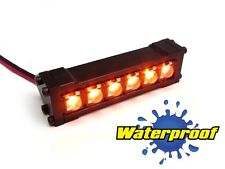 Gear Head RC 1/10 Scale Six Shooter Water Proof LED Light Bar - Amber  GEA1159