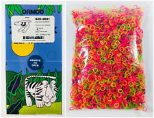 ORMCO Zoo Dental Orthodontic Elastics 5000Pcs 3.5OZ Colorful Ligature Ties Bands