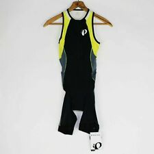 Pearl Izumi Cycling TriSuit Men Sz S XL Bike Tri ELITE InRcool Black Yellow NEW
