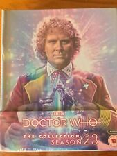 Doctor Who:The Collection. Season 23, Starring Colin Baker. Blu Ray NEW & SEALED
