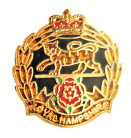 British Army Royal Hampshire Regiment Pin Badge - MOD Approved