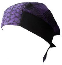 BABY PALI bandana viola-nero velo