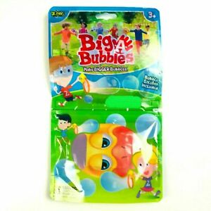 Zing Big A Bubbles Toys Games Make Bigger Bubbles Solution 2.54 Oz Duck NEW