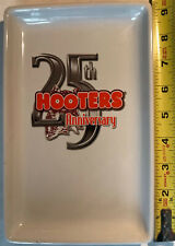 Hooters - 25th Anniversary - Owl White/Orange Collectible Plate