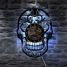 LED Wall Clock Modern Design Vinyl CD Clocks Mute Digital Wall Watch Home Decor