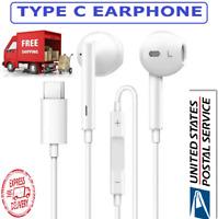 New USB Type-C Earphone Headset In-ear Headphone Stereo Huawei P20 Pro Xiaomi 8