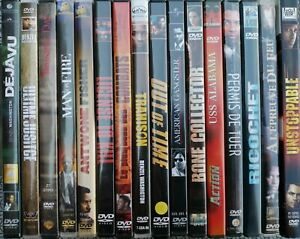 Denzel Washington Lot De 16 Dvd Training Day Man On Fire Trahison Deja Vu