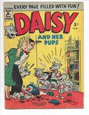Daisy & Her Pups #26 1957 Australian Pantry Raid Cover!